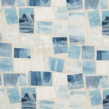 Blue Contemporary Drapery and Upholstery Fabric by Greenhouse
