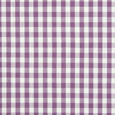 Lilac Check Houndstooth Drapery and Upholstery Fabric by Greenhouse