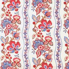 Red/blue Drapery and Upholstery Fabric by Duralee