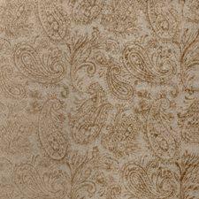 Brass Paisley Drapery and Upholstery Fabric by Fabricut