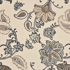 Black/Flax Drapery and Upholstery Fabric by RM Coco
