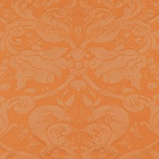 Terracotta Drapery and Upholstery Fabric by Schumacher