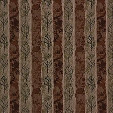 Green/Rust Crypton Drapery and Upholstery Fabric by Kravet