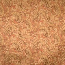 Spice Paisley Drapery and Upholstery Fabric by Fabricut