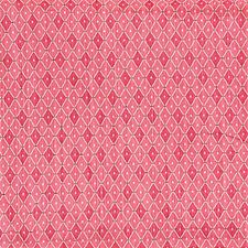 Pink/Green/Beige Diamond Drapery and Upholstery Fabric by Kravet