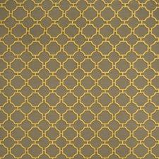 Lemon Geometric Drapery and Upholstery Fabric by Fabricut