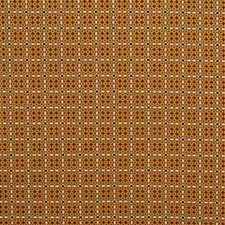 Gold/Cayenne Small Scales Drapery and Upholstery Fabric by Lee Jofa