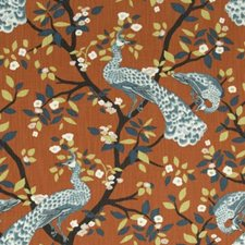 Persimmon Drapery and Upholstery Fabric by Robert Allen /Duralee