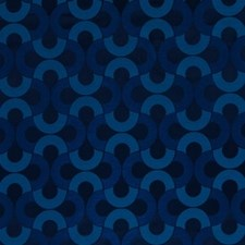 Batik Blue Drapery and Upholstery Fabric by Beacon Hill