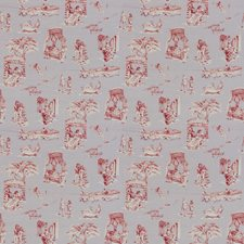 Lavander/Rouge Novelty Drapery and Upholstery Fabric by Vervain