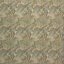 Beige/Light Green/Green Botanical Drapery and Upholstery Fabric by Kravet
