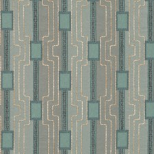 Blue Pine Drapery and Upholstery Fabric by Robert Allen
