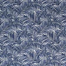 Indigo Botanical Drapery and Upholstery Fabric by Kravet