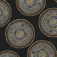 Soft Black Drapery and Upholstery Fabric by Robert Allen