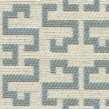 Light Blue/Beige Modern Drapery and Upholstery Fabric by Kravet