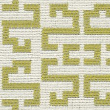 Celery/Beige Modern Drapery and Upholstery Fabric by Kravet