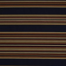 Classic Navy Stripes Drapery and Upholstery Fabric by Kravet