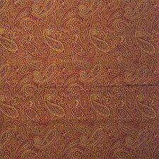 Rust/Yellow/Burgundy Paisley Drapery and Upholstery Fabric by Kravet