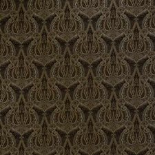 Cocoa Damask Drapery and Upholstery Fabric by Kravet