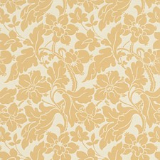 Parchment Floral Drapery and Upholstery Fabric by Fabricut