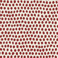 Carnelian Jacquard Drapery and Upholstery Fabric by Scalamandre