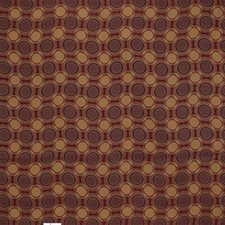 Rust/Yellow/Purple Geometric Drapery and Upholstery Fabric by Kravet