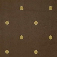 Brown/Gold Dots Drapery and Upholstery Fabric by Kravet