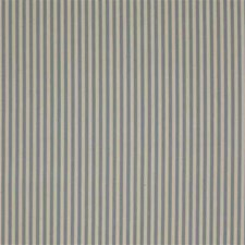 Blue/Beige Stripes Drapery and Upholstery Fabric by Kravet