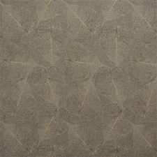 Beige/Yellow/Brown Botanical Drapery and Upholstery Fabric by Kravet