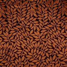 Brown/Rust Botanical Drapery and Upholstery Fabric by Kravet