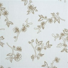 Lagoon Botanical Drapery and Upholstery Fabric by Kravet