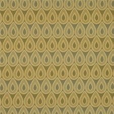 Yellow/Grey Metallic Drapery and Upholstery Fabric by Kravet