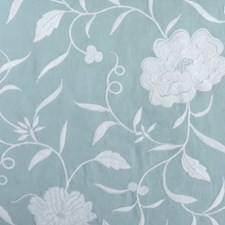 French Blue Drapery and Upholstery Fabric by Highland Court