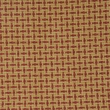 Red Check Drapery and Upholstery Fabric by Fabricut
