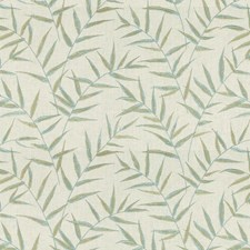 Mineral Botanical Drapery and Upholstery Fabric by Kravet