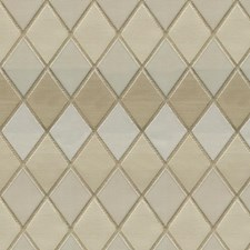 Beige/White Diamond Drapery and Upholstery Fabric by Kravet