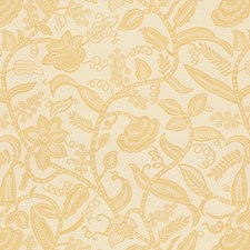 Beige Jacobeans Drapery and Upholstery Fabric by Kravet