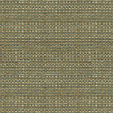 Green/Beige/Blue Texture Drapery and Upholstery Fabric by Kravet