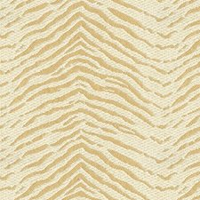Beige/White Animal Skins Drapery and Upholstery Fabric by Kravet
