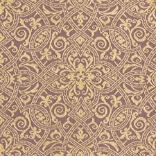 Purple/Beige Damask Drapery and Upholstery Fabric by Kravet