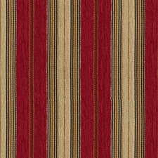 Burgundy/Red/Beige Stripes Drapery and Upholstery Fabric by Kravet