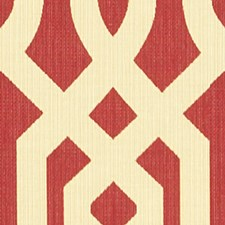 Beige/Burgundy/Red Contemporary Drapery and Upholstery Fabric by Kravet