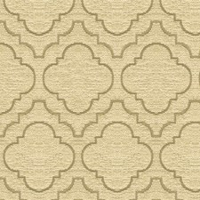 White/Beige Bargellos Drapery and Upholstery Fabric by Kravet