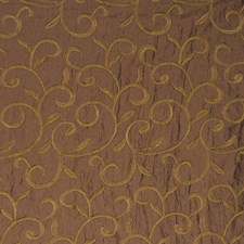 Tortoise Embroidery Drapery and Upholstery Fabric by Fabricut