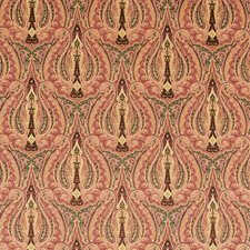 Cognac Paisley Drapery and Upholstery Fabric by Fabricut
