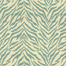 Beige/Blue Animal Skins Drapery and Upholstery Fabric by Kravet
