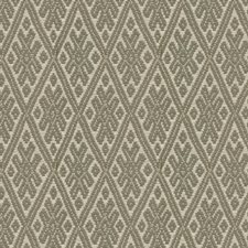 Pewter Diamond Drapery and Upholstery Fabric by Kravet
