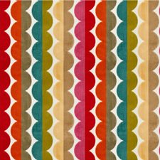 Pink/Orange/Blue Stripes Drapery and Upholstery Fabric by Kravet