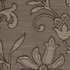 Graphite Floral Drapery and Upholstery Fabric by Fabricut
