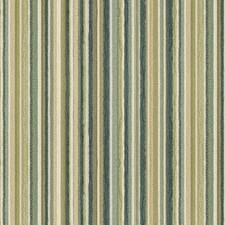 Beige/Blue/Green Stripes Drapery and Upholstery Fabric by Kravet